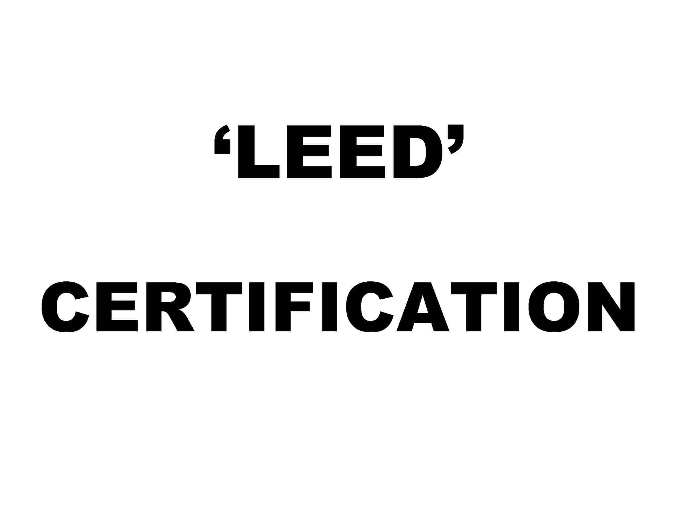 Leed Certification For Homes Home Design