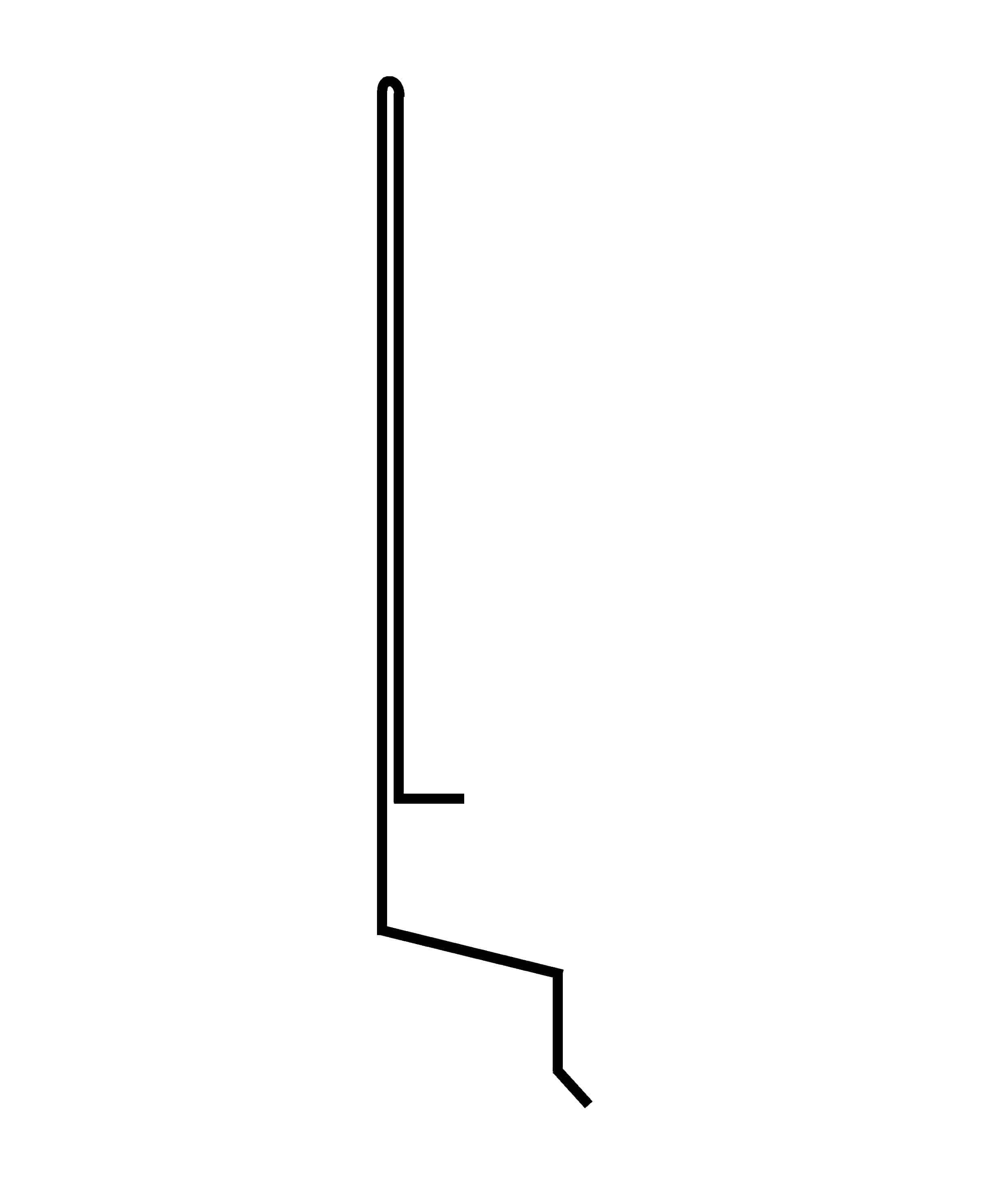 drip edge conventional 7/8